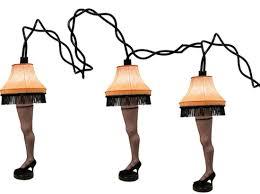 Leg Lamp String Lights Neca Christmas Story String Leg Lights Measures 8 Miniature Replica