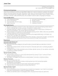 Fda Resume Free Resume Example And Writing Download