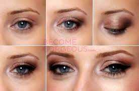 how to do eye makeup blue eyes blonde