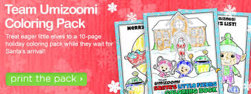 Small Picture FREE Team Umizoomi Christmas Coloring Pages