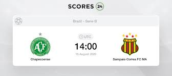 Based on our detailed analysis of statistics listed below and other factors, we are predicting both teams to score in this game, under 2.5 goals, and a draw. Chapecoense Vs Sampaio Correa 16 08 2020 Stream Results