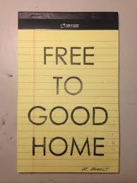 Free To Good Home Michael Prault