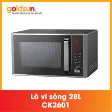 ️Lò nướng 🎉FREESHP️🎉 Lò vi sóng Goldsun CK2601- Điện tử 28L, Giá tháng  3/2021