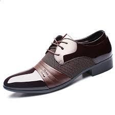 Muhuisen <b>Men</b> Dress <b>Shoes Plus</b> rozmiar 38-48 Mężczyźni ...
