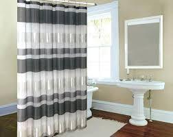 bed bath shower curtain bed bath and beyond bathroom curtains metallic striped silver fabric shower curtain