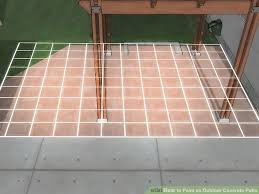 diy paint garage floor new how to paint an outdoor concrete patio with wikihow