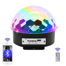 Light Your Candle Mp3 Us 31 24 5 Off Mp3 Led Magic Ball Digital Rgb Led Music Crystal Magic Ball Effect Led Mp3 Bluetooth Usb Disco Dj Stage Lighting Remote Control In
