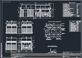 Все работы студента Клуб студентов Технарь  2АВО 75 Аппарат воздушного охлаждения конвертированного газа Чертеж Оборудование транспорта нефти и газа