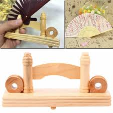 Japanese Fan Display Stand 100cm Chinese Japanese Foldable Fan Display Holder Base Stand Knot 3