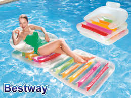 swimming pool lounge chair. Image Is Loading BESTWAY-HIGH-FASHION-FOLDING-LOUNGE-CHAIR-INFLATABLE-LILO- Swimming Pool Lounge Chair