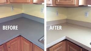 kitchen countertop refinishing laminate transformed kitchen countertop paint kits uk