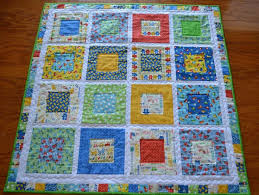 10 best boys baby quilt images on Pinterest | Babies, Baby girls ... & Handmade Baby Quilts | Handmade Baby Quilt - 43x43 Baby Talk Adamdwight.com