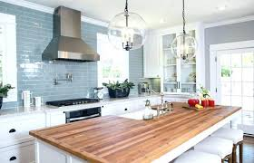 white cabinets with butcher block countertops walnut awesome house