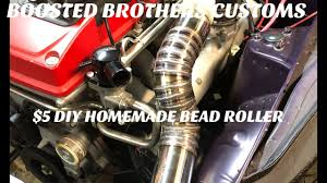 5 diy bead roller for intercooler and radiator piping how to