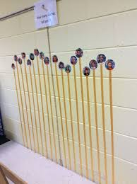 Kindergarten Height Chart Height Chart After Measuring The Children We Put A Piece
