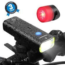 400 Lumen Bike Light Amazon Com Usb Rechargeable Led Bike Light Set By Sunspeed