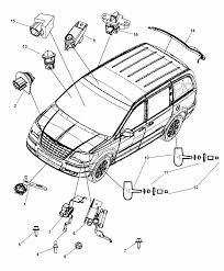 2009 dodge grand caravan sensors body