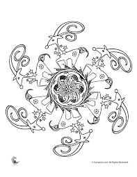95d8c4547987f3cfda52e5d1f505da51 christmas mandala coloring pages reindeer and christmas flower on fantasy draft worksheet
