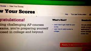 How To Get Your AP Scores Early - YouTube