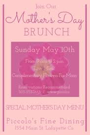 Mother S Day Menu Template Mothers Day Menu Template Kadil Carpentersdaughter Co