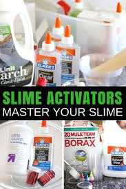 slime activator list for making your