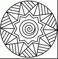 best of mandala coloring pages for kindergarten free 2 c extraordinary easy mandala coloring