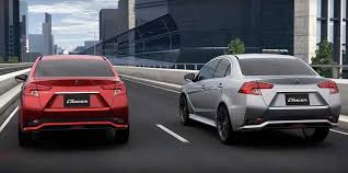2018 mitsubishi lancer. simple mitsubishi grand lancer having received completely new body panels with charismatic  vyshtampovkami on the doors retained power frame  intended 2018 mitsubishi lancer
