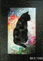 Best 25+ Cat quilt ideas on Pinterest | Cat quilt patterns ... & Original design by Krisi Santillla Julia---cat quilt! Adamdwight.com