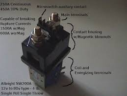 working of contactors electronic circuits and diagram contactor relay