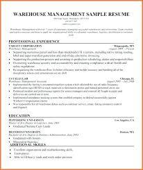 sample resume supervisor position warehouse supervisor resume sample pdf customer service samples free