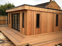 Small Picture Cedar clad garden building Contemporary Garden Shed and