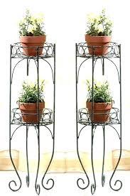 wrought iron outdoor planters rod iron plant stand er wrought iron plant stands outdoor tall wrought