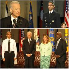 Surgeon general vivek murthy received a surprise visitor while appearing remotely wednesday on the interview continued as murthy's son placed his arm around his dad's neck and sat in his lap for a. Vice President Biden Swears In Indian American Vivek Murthy For Top Post Of Us Surgeon General Indian American Community News
