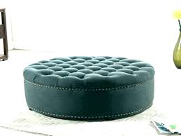 luxury large round coffee table ottoman large round tufted ottoman round tufted coffee table large leather