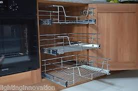 i want these in the kitchen pull out wire baskets for kitchen larder cupboards 300mm