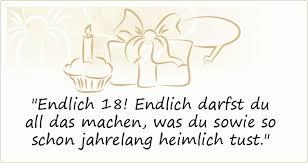 Sprüche Zum 18 Geburtstag Einer Von 20 Sprüchen
