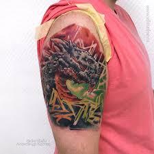 сделать татуировку на руке цена тату на руке или плече салон дом