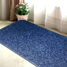blue kitchen rug navy rugs washable runner mat matt doors
