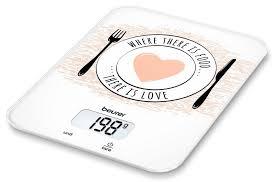 <b>Весы</b> кухонные <b>Beurer KS19</b> Love — купить в интернет-магазине ...