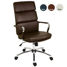 eames style office chairs. BELLONA Brown Designer Eames Style Faux Leather Office Chairs