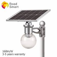 solar powered outdoor lighting gate lighting with remote control