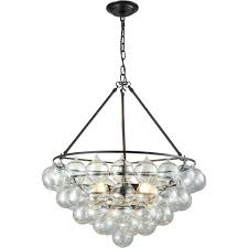 cuvee chandelier oil rubbed bronze clear round glass orbs small glass chandelier parts arhaus glass sphere chandelier glass ball chandelier diy