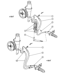 2000 dodge dakota power steering diagram free 700x573 · 2000