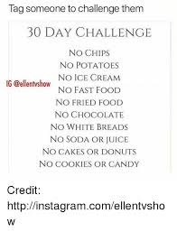 no fast food challenge. Unique Food Candy Cookies And Fast Food Tag Someone To Challenge Thenm 30 DAY  CHALLENGE And No Food Challenge N