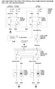 fuel pump wiring diagram (1993 1995 f150, f250, f350) 1995 ford f350 wiring diagrams at 1995 Ford F 350 Wiring Diagram