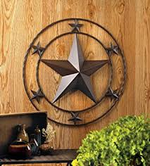 24 quot texas lone star metal wall art rustic cowboy country western decor on texas star metal wall art with amazon 24 texas lone star metal wall art rustic cowboy country