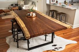 raw edge dining table. Live Edge Acacia Dining/Conference Table Raw Dining