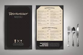 Menu Templates Design 50 Best Restaurant Menu Templates Both Paid And Free Infoparrot