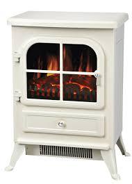 manor fireplace cream white vista built in fan heater electric