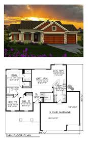 one level open floor house plans lovely 88 best ranch style home plans images on
